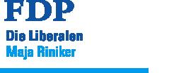 Maja Riniker - FDP.Die Liberalen